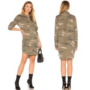 Rails Julian Dress in Sage Camo Size Large